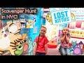 Finding Lost Kitties in New York City! Lost Kitties Toy Scavenger Hunt!