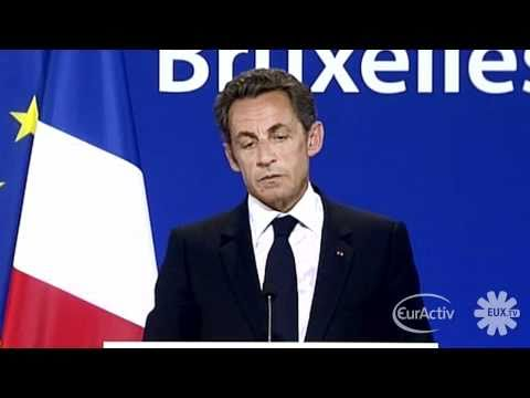 Roma: Sarkozy denies using 'excessive' language at EU summit (French)