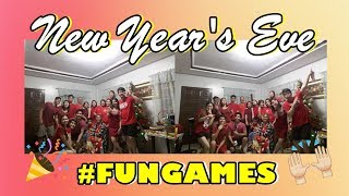 NEW YEAR'S EVE VLOG: Fun Games With The Fam