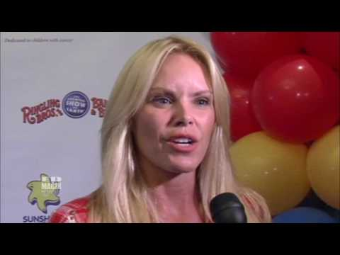 Gena Lee Nolin - Red Carpet Celebrity Interview at Sunshine Kids/Ringling Bros Event