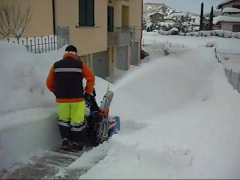 Sgombero neve sant 39 angelo in vado 14 febbraio for Motocoltivatore bcs 720