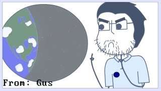 Rooster Teeth Animated Adventures Gus on Mars
