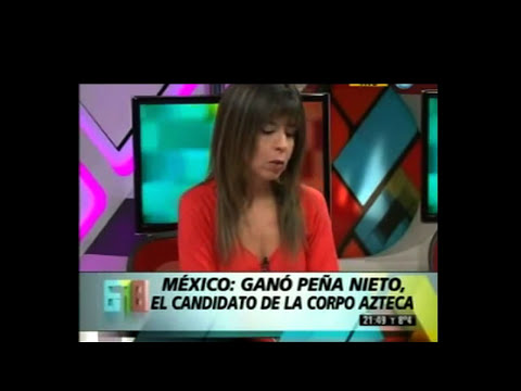 Peña Nieto y Televisa MASACRADOS en Argentina