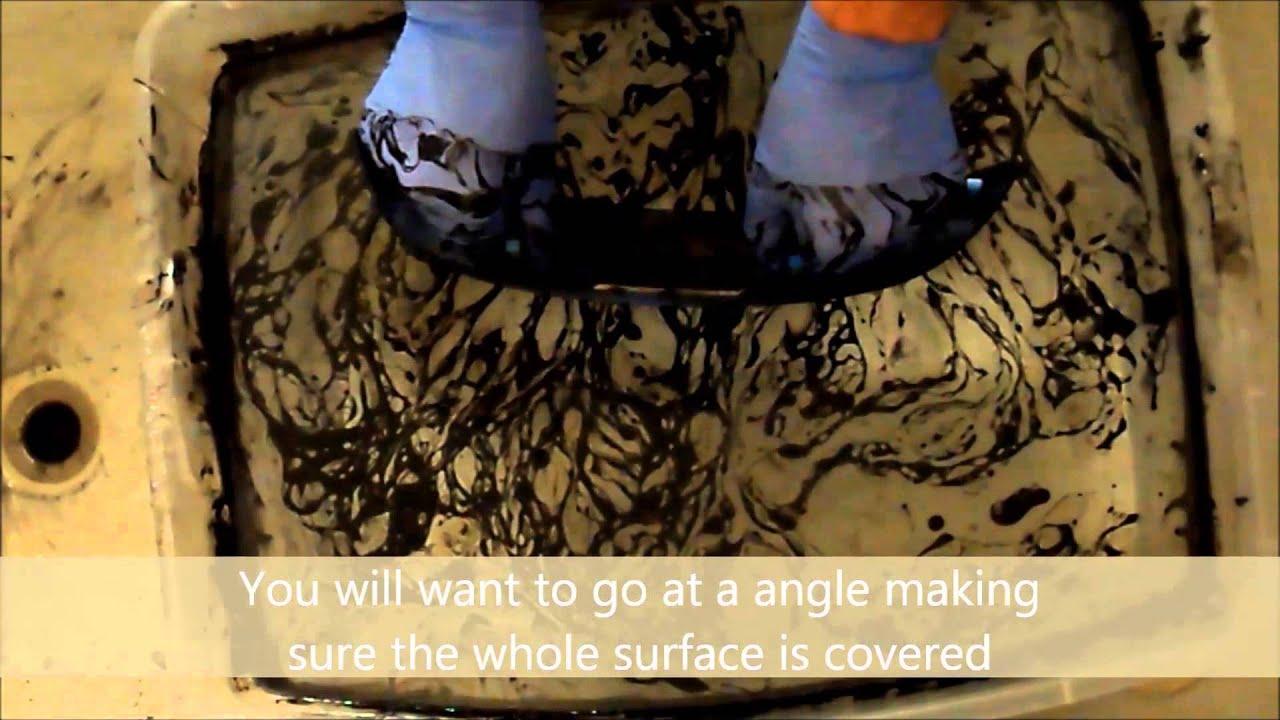 Spray Paint Dipping Skulls