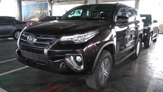 Toyota Fortuner 2.4 G A/T 4x2 (2017 Minor Improvement) Start Up & Review Indonesia
