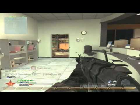 Modern Warfare 2:  NUKE on Highrise with AK47 (Gameplay Commentary)