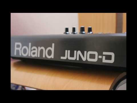 Roland Juno-D demo song by Gibki