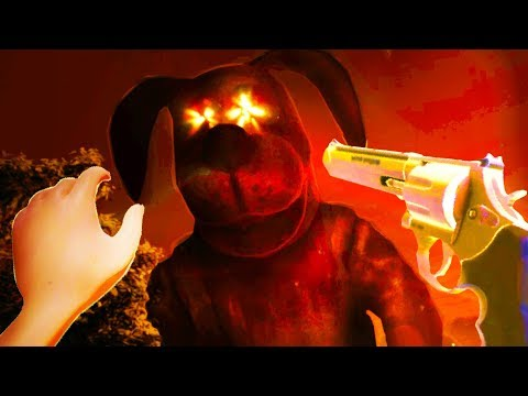 DOES MOM'S REVOLVER HAVE A SECRET ENDING!?! - Duck Season (VR HTC VIVE)