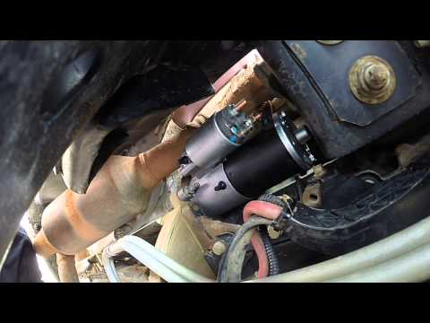 Ford F-150 Starter Replacement Walkthrough  w/ Tips!