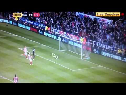 Yohan Cabaye goal vs Stoke 3-0 2012