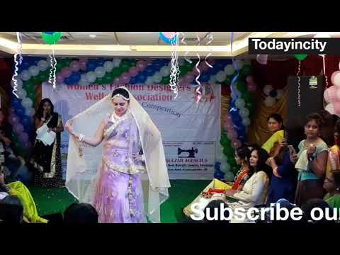 Womens Fashion Designers Welfare Association Vizag First Year Anniversary Ramp Walk Part 1