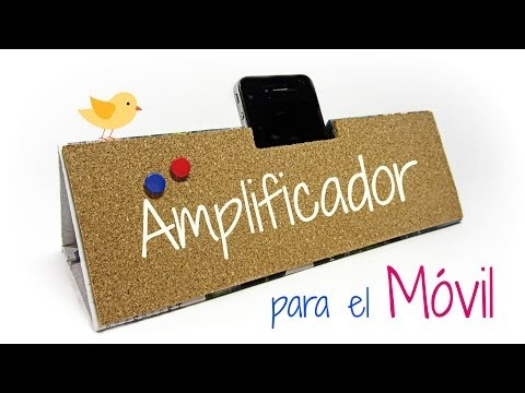 DIY: Amplificador para móvil o celular. Mobile amplifier.
