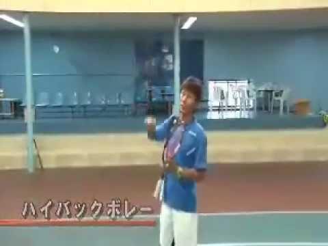 ベテランJOPランキング ダブルス1位のテニスレッスン
