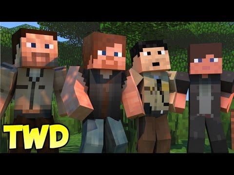 Minecraft Mods - MORPH HIDE AND SEEK - THE WALKING DEAD MOD
