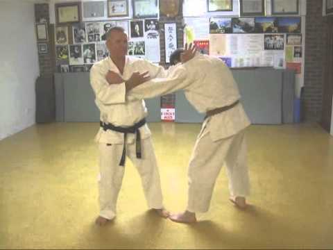 Tom Hill's Karate Dojo; Kokutsu Dachi With Shuto & Nukite Basic Strikes video