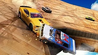Whirlpool Car Derby 3D - Android Gameplay HD