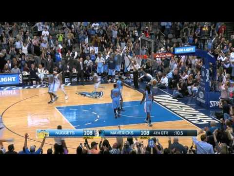 Denver Nuggets vs Dallas Mavericks   February 26, 2016   NBA 2015-16 Season