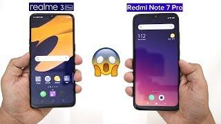 Realme 3 Pro Vs Redmi Note 7 Pro Performance Comparison I SpeedTest,PUBG Gameplay,Video Render