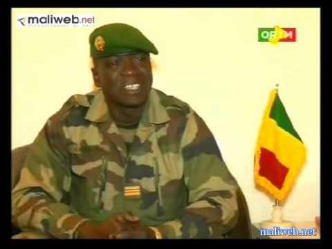 Explication du Capitaine Amadou Haya Sanogo sur la démission de Cheick Modibo Diarra