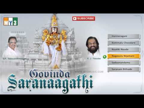 K.j.yesudas Devotional Songs -govinda Saranaagathi - Jukebox video