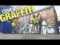 MALER OVER MIN EGEN GRAFFITI /// COVER UP GRAFFITI -