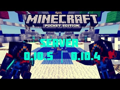 Server Para Minecraft Pocket Edition 0.10.4 | Instant Network | PVP | Walls