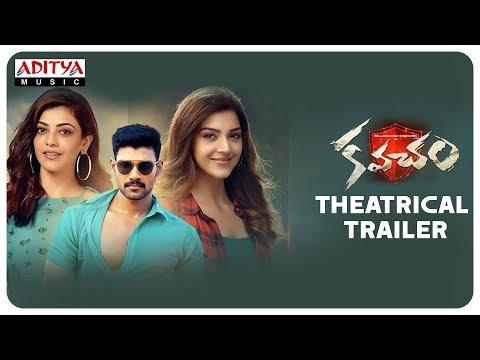 Kavacham Theatrical Trailer || Bellamkonda Sai Sreenivas, Kajal Aggarwal, Mehreen Pirzada thumbnail