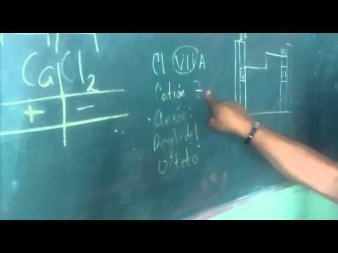 Numero de Oxidación de compuestos Binarios