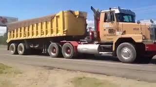 Autocar volvo truck ,caterpillar engine, #CamionesRD #RD_Truck #Camionerosdesangreasul