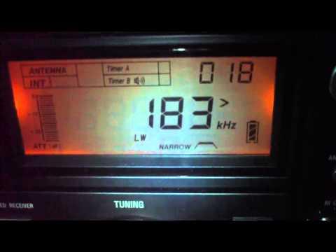 183 khz Radio Europe 1 , Transmitter city Felsberg , Germany reiceved in Brazil 9434 km distance