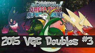 video Pokemon ORAS - 2015 VGC Doubles #3