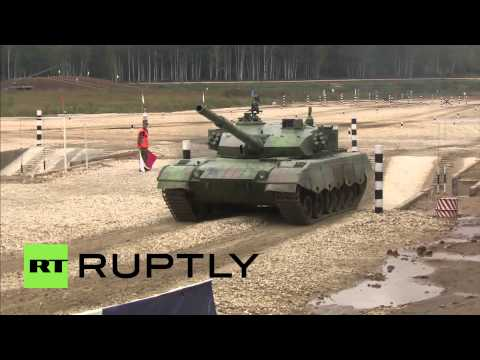 Russia: Tank Biathlon crown Russia world champions