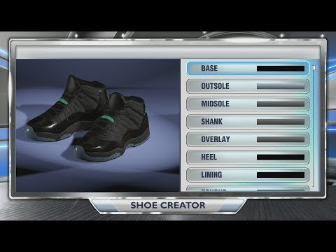 NBA 2K14 Next Gen Shoes - Air Jordan 11 Gamma Blue