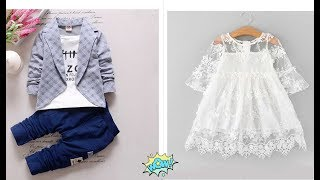 Hopscotch haul#Baby boy and baby girl dresses unpacking...