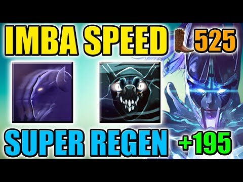 Super HP Regen and High Movement Speed [Invisible Phantom Assassin] Dota 2 Ability Draft