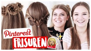 4 EASY PINTEREST FRISUREN MIT JULIABEAUTX 🙆🏼 | COCO