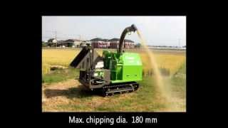 Bamboo Chipper Shredder GS282D