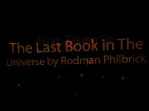 book report on the last book in the universe