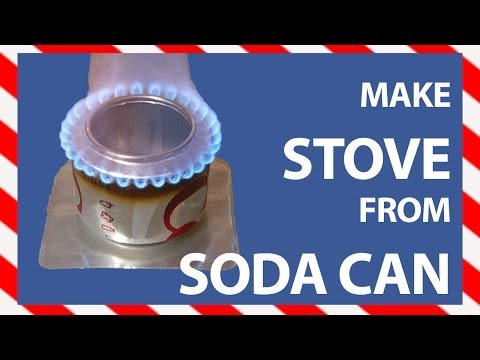 Portable Stove: How to make a Soda Can Stove