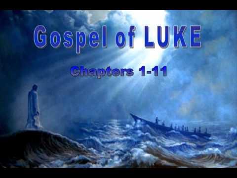 Gospel Of Luke Chap 1-11 Audio Book, Holy Bible, King James Version video