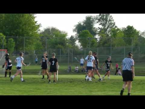 Davey goal Mount Hebron/Marriotts Ridge girls lacrosse 3A/2A South finals 5/15/13