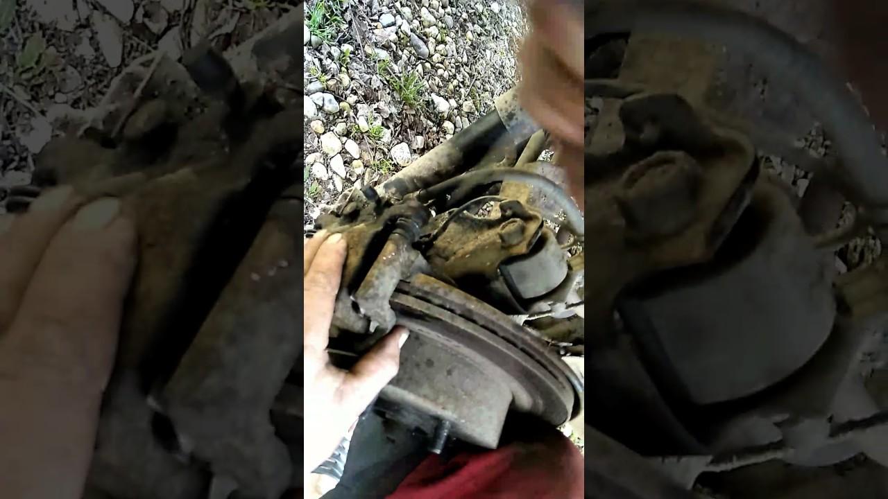 Замена задних тормозных колодок своими руками ниссан кашкай