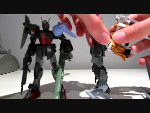 1/144 HG 105 Slaughter Dagger review + small mod Part 2/2