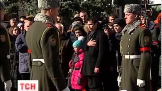 Ирпень попрощался со своим земляком, который погиб под Дебальцево - (видео)
