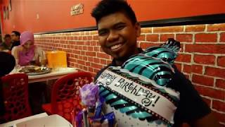 PRANK MY HUSBAND || HUSBAND'S BIRTHDAY SURPRISE PARTY AT D'APPLE CAFE