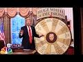 Trump Unveils Huge Wheel of Decisions -