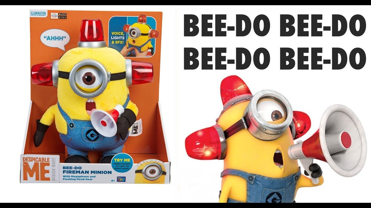 Minion Carl Bee do my Bee-do Fireman Minion