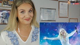 Voice Teacher |analysis   AMAZING Australia - LIVE - Kate Miller-Heidke - Zero Gravity EUROVISION