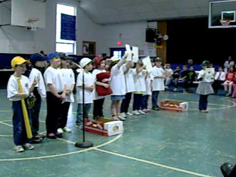 Take Me Out To The Ballgame - Annunciation School, 1st Grade, Elma, NY