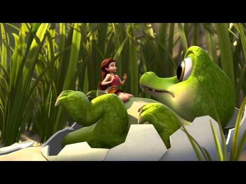 Disney España | Campanilla. Hadas y piratas | Pequeño e inofensivo cocodrilo